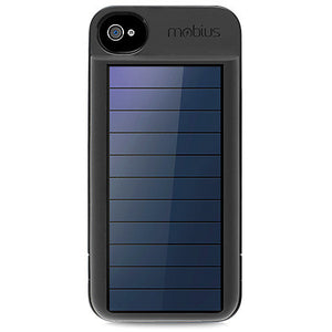 Eton - Rechargeable Battery Case with Solar Panel for iPhone 4 and iPhone 4s