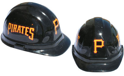Pittsburgh Pirates - MLB Team Logo Hard Hat Helmet