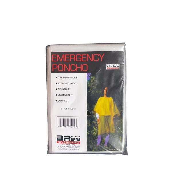 Emergency/Disposable Poncho