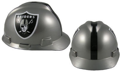 Oakland Raiders - MSA - NFL Team Logo Hard Hat