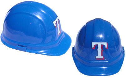 Texas Rangers - MLB Team Logo Hard Hat Helmet