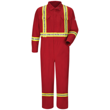 Load image into Gallery viewer, Premium Coverall with CSA Compliant Reflective Trim - Nomex® IIIA
