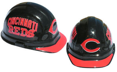Cincinnati Reds - MLB Team Logo Hard Hat Helmet