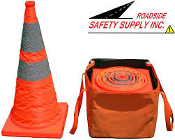 Collapsible Cones (SET OF 4 or 5 WITH CASE)