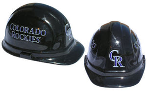 Colorado Rockies - MLB Team Logo Hard Hat Helmet