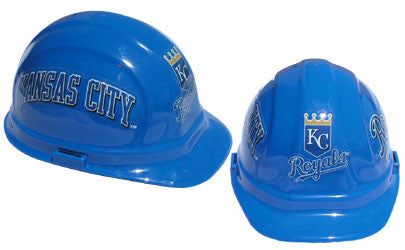 Kansas City Royals - MLB Team Logo Hard Hat Helmet