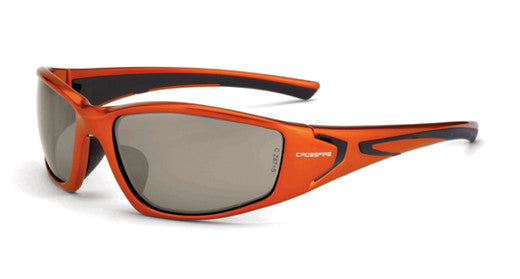 RPG HD Dem-Copper Flash Mirror Lens Burnt Orange Frame