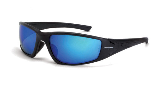 RPG Polarized HD Blue Mirror Lens Matte Black Frame