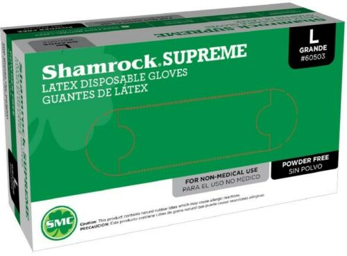 Shamrock Supreme - Powder-free Latex Gloves - Case