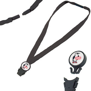 Chums - Breakaway Cotton Lanyard - Detachable End