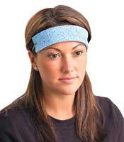 OccuNomix - One Size Fits All Blue Regular Cellulose Sweatbands