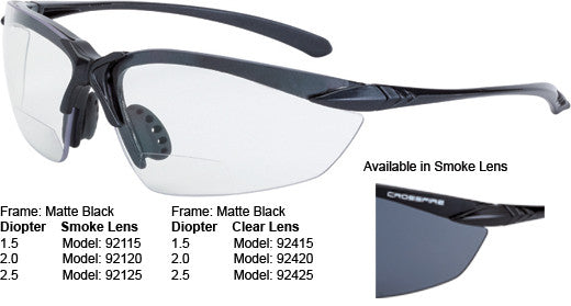 Sniper Reader - Matte Black - Clear