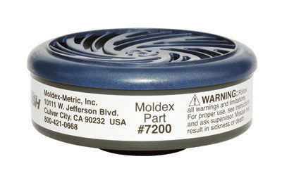 Moldex Acid Gas Cartridge For 7000 And 9000 Series Air Purifying Respirators (2 Pieces)