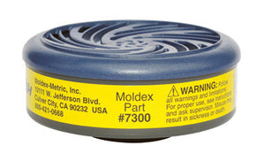 Moldex Organic Vapor/Acid Gas Cartridge For 7000 And 9000 Series Air Purifying Respirators (2 Pieces)
