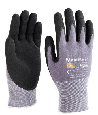Maxiflex Plus II Ultimate 15 Gauge Coated by ATG Gloves