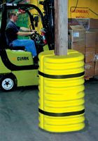 Eagle Yellow/Black Column Protector For 6
