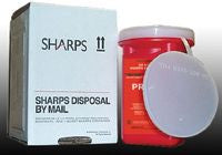 Sharps Recovery System Needle Disposal Container