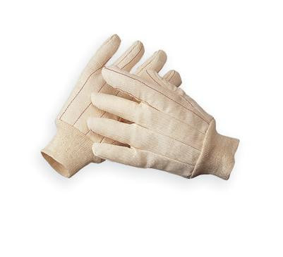 Quilted Cotton Double Palm Gloves