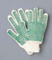 PVC Block String Gloves