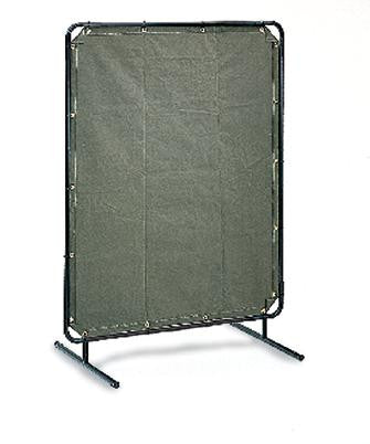 Radnor 6' X 8' 12 Ounce Olive Drab Duck Canvas Replacement Welding Screen