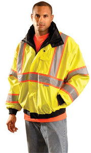 OccuNomix Hi-Viz OccuLux PU Coated Bomber Jacket