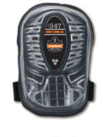 Ergodyne Black Long Cap Honeycomb Gel Knee Pad