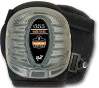 Ergodyne Black Short Cap Injected Gel Knee Pad
