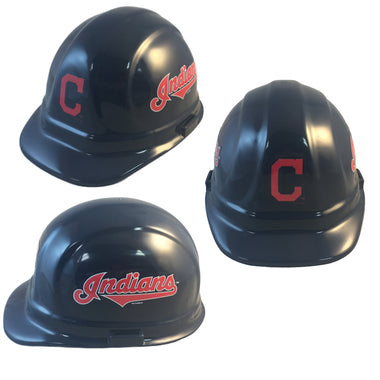 Cleveland Indians - MLB Team Logo Hard Hat Helmet