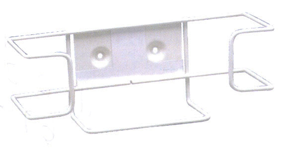 White Wire - Single or Double Box Disposable Glove Holder