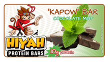 Kapow - Chocolate Mint (12 delicious bars)