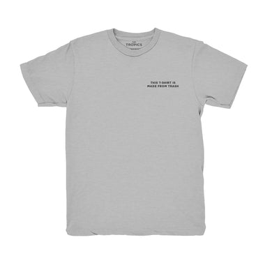 Pre-Order: Trash T-shirt Grey - 100% recycled materials