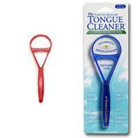 Tongue Cleaner - Red Plastic by Pureline