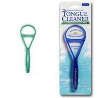 Tongue Cleaner - Green Plastic by Pureline