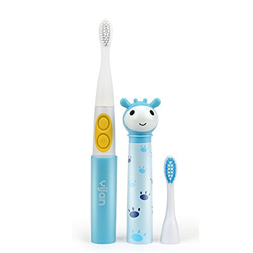 Letigo Kid Smart Sonic Electric Toothbrush Children Music Toothbrush (Blue)