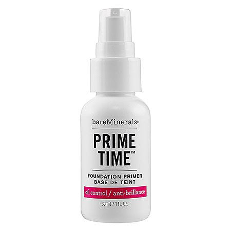bareMinerals Prime Time Oil Control Face Primer, 1 Ounce