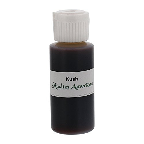 1 OZ Kush Fragrance Body Oil Uncut Alcohol Free - Flip Top Cap Bottle