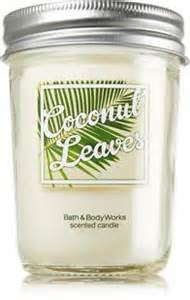 Bath & Body Works Coconut Leaves Mason Jar Candle