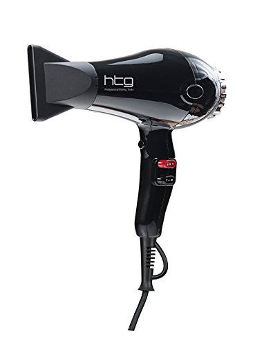 HTG Professional Compact hair dryer 1875W with ionic and infared rays Super power HT039A 100-110V
