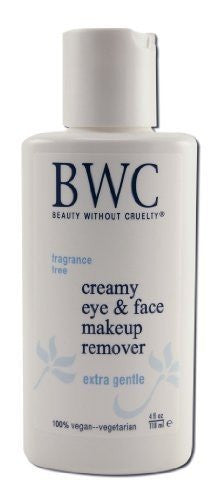 Beauty Without Cruelty Eye Makeup Remover Creamy 4 Oz