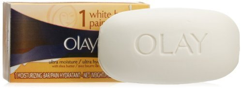 (2 Pack) Olay Ultra Moisture Beauty Bar Soap with Shea Butter, 3.17 oz. each.