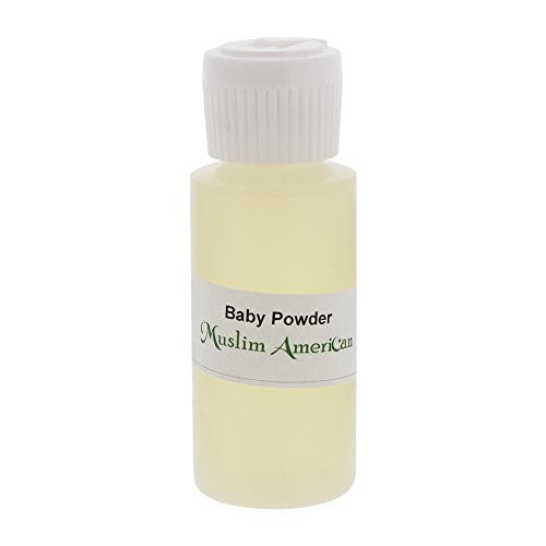 1 OZ Baby Powder Fragrance Body Oil Uncut Alcohol Free - Flip Top Cap Bottle