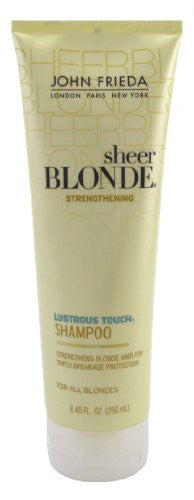 John Frieda Sheer Blonde Lustrous Touch Strengthening Shampoo - 8.45 Oz (Pack of 6)