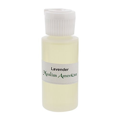 1 OZ Lavender Fragrance Body Oil Uncut Alcohol Free - Flip Top Cap Bottle