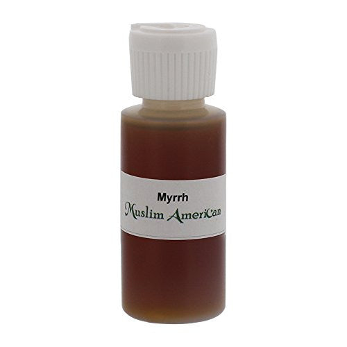 1 OZ Myrrh Fragrance Body Oil Uncut Alcohol Free - Flip Top Cap Bottle