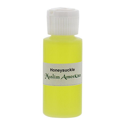 1 OZ Honeysuckle Fragrance Body Oil Uncut Alcohol Free - Flip Top Cap Bottle