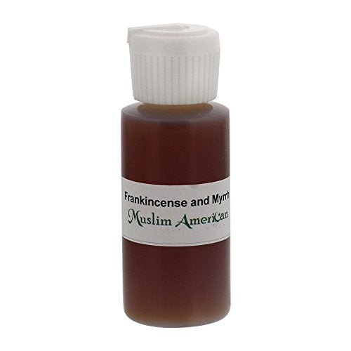 1 OZ Frankincense and Myrrh Fragrance Body Oil Uncut Alcohol Free - Flip Top Cap Bottle
