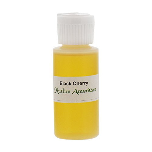 1 OZ Black Cherry Fragrance Body Oil Uncut Alcohol Free - Flip Top Cap Bottle