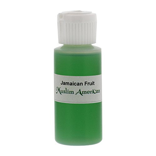 1 OZ Jamaican Fruit Fragrance Body Oil Uncut Alcohol Free - Flip Top Cap Bottle