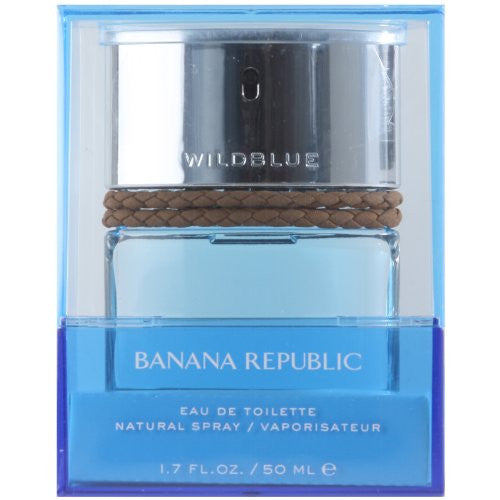 Banana Republic Wild Blue for Men 1.7 oz Eau de Toilette Spray
