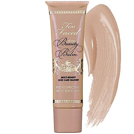 Too Faced Tinted Beauty Balm Multi Benefit Skin Care Makeup, Nude Glow, 1.5 Fluid Ounce